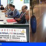 Los taxistas del sur de Gran Canaria, luchan contra la piratería extranjera