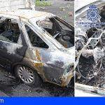 Robaron cuatro vehículos en Lanzarote y quemaron uno de ellos