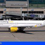 Vueling incrementa su presencia en las Islas Canarias con un crecimiento de un 5% y tres nuevas rutas a Valencia para 2019