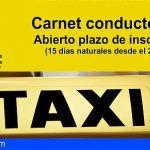 San Miguel de Abona abre la inscripción para obtener el carnet de taxista