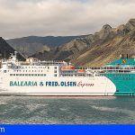 Presentan en Santa Cruz la nueva ruta marítima Canarias Península