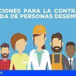 El Cabildo de Tenerife convoca subvenciones para la contratación indefinida y a jornada completa de desempleados