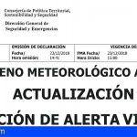 El Gobierno de Canarias declara la situación de alerta por Vientos en El Hierro, La Gomera y NE de Tenerife