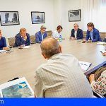 El consejero de Obras Públicas explica en el Cabildo el proyecto del Anillo Insular
