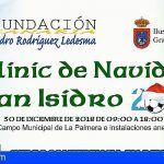 Grandilla | Un año más solidaridad y deporte se unen en Clínic de Navidad «Pedro Rodríguez»