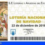 Detenido por el robo de 300 décimos de lotería del sorteo de Navidad cometido en Los Realejos