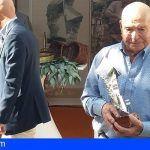 La Gomera | La artesanía canaria homenajea a Eliseo Barrera por su contribución a la conservación de este oficio en la isla