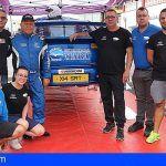 Félix Brito finaliza la temporada con una quinta plaza en el Rallysprint Santiago del Teide
