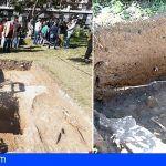 Los restos humanos que alberga la fosa común de Vegueta están en buen estado de conservación
