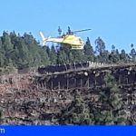 Conato de incendio en la zona del Barranco de Las Cabras en Granadilla de Abona