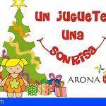 Arona | Ningún niño sin regalo es el propósito de la campaña `Un juguete, una sonrisa´