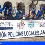 Agradecimiento desde el SPPLB en canarias a la plataforma social de policías locales PSPL