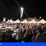 San Isidro celebró una feria 'Con sabor a Navidad' y mucha solidaridad