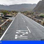Cuatro heridos en una colisión frontal y posterior incendio de ambos vehículos en El Teide