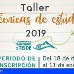 Educación de Santiago del Teide organiza un taller gratuito de técnicas de estudio