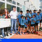 Finaliza la etapa de la iniciativa ciclista solidaria «el Tour de la Ilusión» en el Hospital de La Candelaria