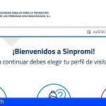 El Cabildo de Tenerife mejora la accesibilidad a la información de los servicios que presta Sinpromi