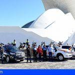 Los nuevos vehículos de la Policía Local y Protección Civil de Santa Cruz entran en servicio