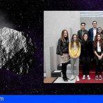 Gobierno de Canarias recibió a los estudiantes grancanarios que descubrieron un nuevo asteroide