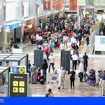 Los aeropuertos canarios baten récord con más de 45 millones de pasajeros en 2018