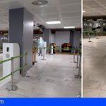 El Aeropuerto de Tenerife Sur instala asistentes virtuales en los filtros de seguridad