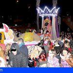 Éxito de la Gran Cabalgata de los Reyes Magos en Santiago del Teide