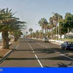 Varios heridos tras colisionar un turismo contra una palmera en Adeje