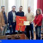San Miguel reconoce la participación en el campeonato del mundo de Footgolf a Cherre Bello
