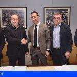 Firmada la adjudicación de la obra de la Ciudad Deportiva de Tenerife Javier Pérez