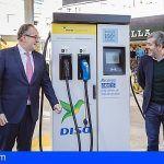 DISA inaugura en Santa Cruz la primera Electrolinera y Restaurante Rodilla de Canarias