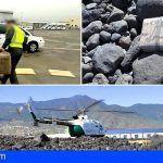 Encuentran tres fardos de hachís diseminados en la costa entre Granadilla y Güímar con un peso de 77 kg