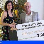 El blog 'Algo que recordar', del canario Rubén Señor, ganador de los Premios IATI