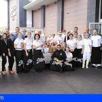 El hotel Playa de La Arena y el Costa Los Gigantes donan más de 220 kilos de alimentos al banco de alimentos municipal