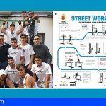 Inicia en Valle San Lorenzo la obra del parque street workout con calistenia en el área recreativa El Almendro