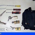 Detienen a tres personas en Santa Cruz cuando intentaban robar en un domicilio