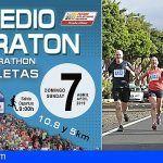 Se abre el plazo de inscripción para el Medio Maratón de Las Galletas 2019