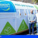 Tenerife | Retiran 15 toneladas de ropa y calzado en los mini puntos limpios durante el pasado año