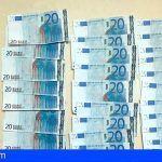 Detienen a dos personas en Santa Cruz por falsificación de moneda