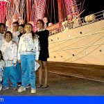Regatistas isoranos recogen sus premios en el Juan Sebastián Elcano