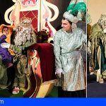 Más de 20.000 personas reciben a los Reyes Magos en Los Cristianos