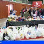San Miguel reparte las donaciones que ha recibido el Banco de Alimentos Municipal