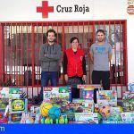 Cruz Roja entrega juguetes a 2.415 menores de la provincia tinerfeña