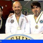 Tres granadilleros se alzan con un oro y dos platas en el Campeonato de Canarias de Jiu Jitsu