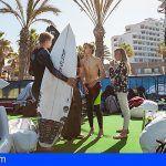 Arona acoge desde hoy la Liga Mundial de Surf