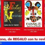 El Ayuntamiento de Santa Cruz y la revista ¡Hola! recuperan carteles históricos del Carnaval