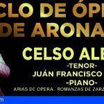 Celso Albelo, el número uno de los tenores españoles, clausura el Ciclo de Ópera de Arona