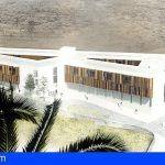 Inauguran en La Gomera el acceso al Centro Sociosanitario y pone la primera piedra de esta infraestructura
