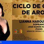 Arona estrena el Primer Ciclo de Ópera del municipio con la aclamada soprano Lianna Haroutounian