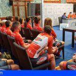 El Cabildo acoge la presentación del Club Ciclista Tenerife Bike Point Pizzería Española