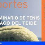 Deportes presenta el III Seminario de Tenis Santiago del Teide